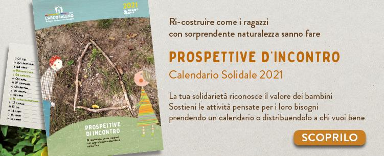 Arcobaleno Onlus Calendario Solidale 2021